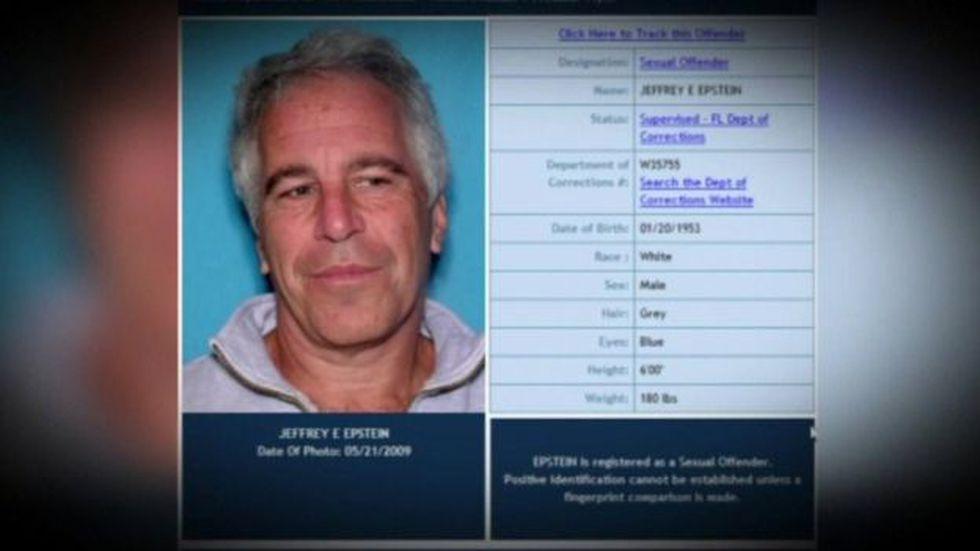 Epstein fue acusado de dirigir una vasta red de tráfico sexual de menores de edad. FOTO: FLORIDA DEPARTMENT OF LAW ENFORCEMENT, vía BBC Mundo
