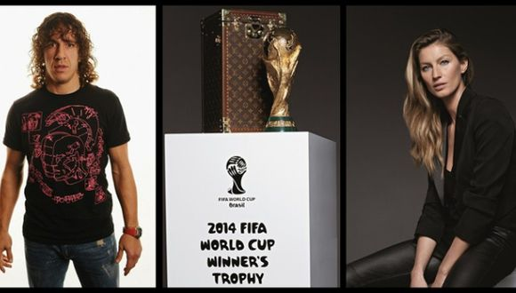 Puyol y Gisele Bündchen portarán la Copa del Mundo en Maracaná