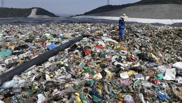 Solamente en 2017, China recolectó 215 millones de toneladas de residuos domésticos en sus ciudades. (Foto: Getty Images, via BBC Mundo)
