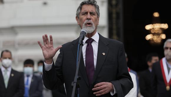 Francisco Sagasti, del Partido Morado, fue elegido titular del Congreso (y, por ende, presidente interino de la República hasta el próximo 28 de julio) por 97 votos.