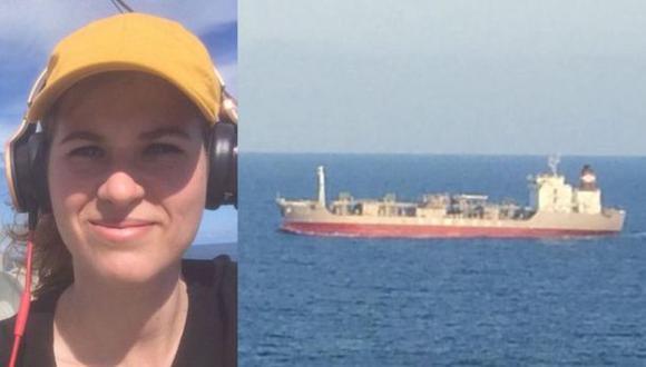 La documentalista atrapada en un barco en medio del Pacífico