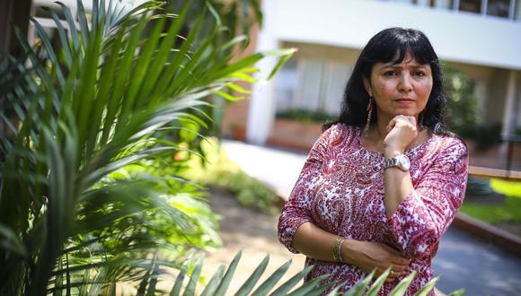 Claudia Rosas Lauro es doctora en Historia por la Universidad de Florencia. (Foto: Hugo Pérez / El Comercio)
