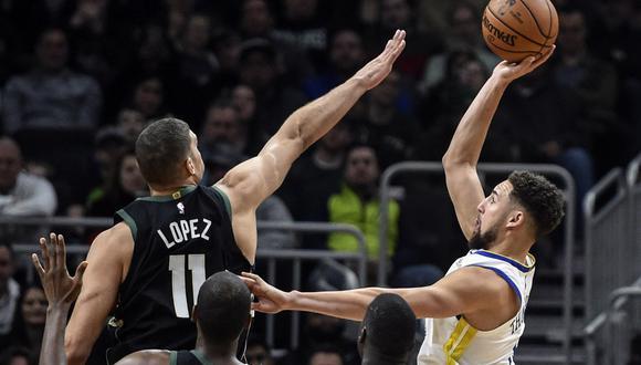 Warriors vs. Bucks EN VIVO ONLINE vía ESPN: Stephen Curry busca un nuevo triunfo en la NBA | Foto: Reuters