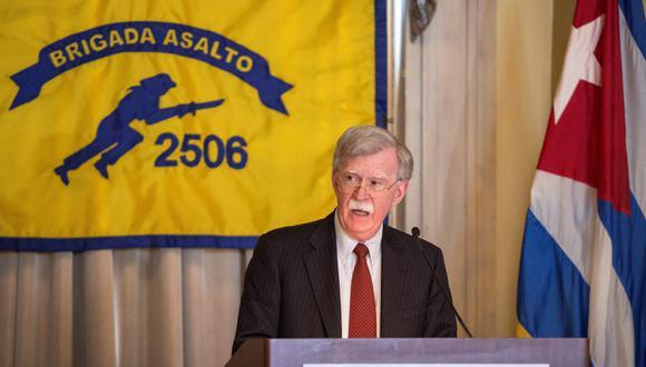 """Bolton señaló que Estados Unidos no ve """"indicaciones reales"""" de que Pionyang quiera deshacerse de su arsenal nuclear. (Foto: EFE)"""