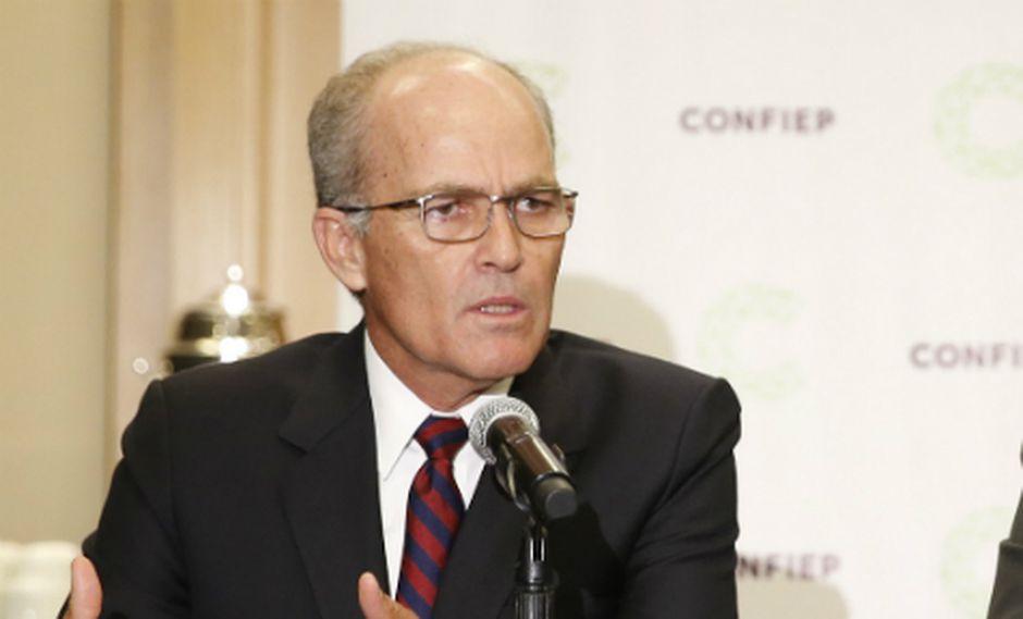 Roque Benavides, presidente de la Confiep. (Foto: USI)