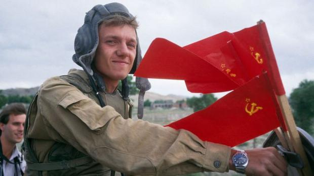 The Soviet invasion was bloody in all respects.  (Getty Images)