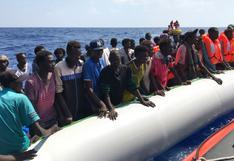 OIM: Casi 60 migrantes mueren ahogados frente a las costas de Libia