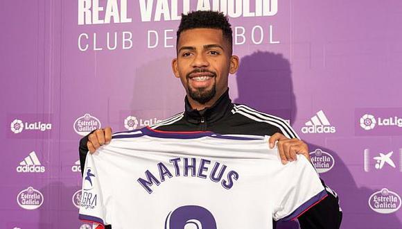 Matheus Fernandes aún no ha debutado en Real Valladolid. (Foto: Real Valladolid)