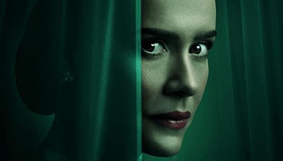 """Sarah Paulson se convierte en Mildred Ratched en la nueva serie producida por Ryan Murpjy, """"Ratched"""" (Foto: Netflix)"""