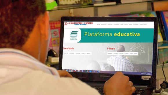 Los cursos online de Saco Oliveros están dirigidos a estudiantes de nivel primario y secundario. (Foto: El Comercio)