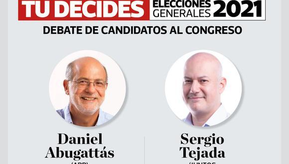 #TúDecides Este jueves nuevo debate electoral en El Comercio
