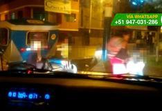 WhatsApp: así ponen en peligro a niños al llevarlos en mototaxi