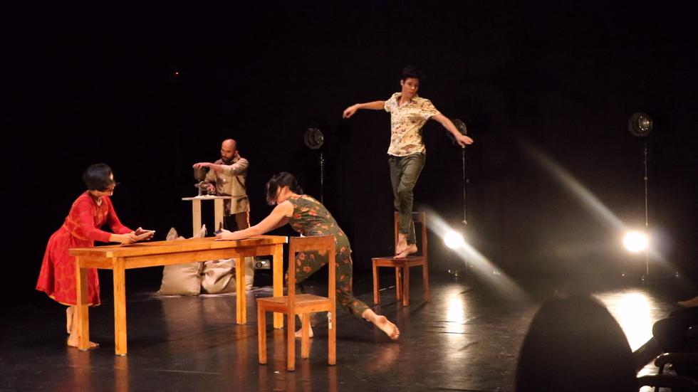 """""""La superficie"""" se estrenó en la última edición del Festival Danza Nueva, en junio de este año (Foto: Gierina Cordova)"""