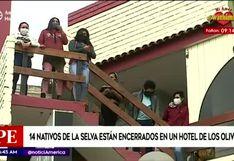 Los Olivos: 14 nativos del Cusco no pueden abandonar hotel debido a deuda