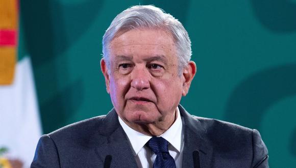 Andrés Manuel López Obrador durante una rueda de prensa matutina en Palacio Nacional de Ciudad de México. (Foto: EFE/Presidencia de México).