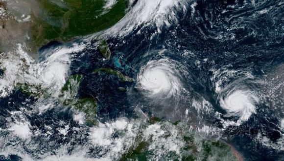 El mes de septiembre es la época del año en la que se producen más huracanes. (Foto: NOAA)