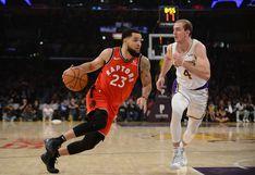 Toronto Raptors venció a Los Ángeles Lakers por la NBA con espectacular actuación de Pascal Siakam