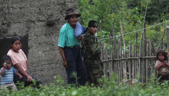 Al menos cuatro hostigamientos se han registrado en Huanta