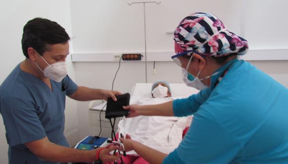 Lambayeque: en el centro de atención aún requiere 82 especialistas más de la salud, entre ellos 42 enfermeras, 7 técnicos en enfermería, 22 médicos cirujanos, 5 tecnólogos en radiología y 3 químicos farmacéuticos. (Foto: Gore Lambayeque)