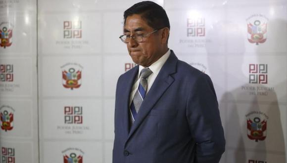 César Hinostroza debería ser destituido e inhabilitado, según el informe de la Subcomisión de Acusaciones Constitucionales. (Foto: USI)