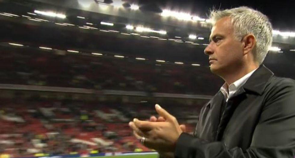 José Mourinho sufrió dura goleada en casa ante Tottenham. (Foto: captura DirecTV)