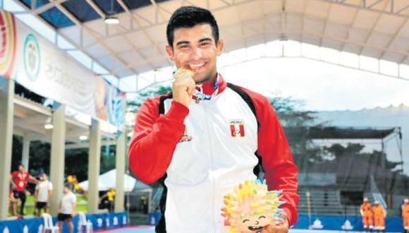 Desde los 14 años, todas las noches y durante 24 meses, tuve que inyectarme hormonas de crecimiento en las piernas. Acabo de ganar la medalla de oro en los Juegos Bolivarianos 2017. Quiero estar en el podio en Tokio 2020. (Foto: IPD)