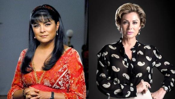 """Victoria Ruffo dijo que """"odia"""" a Leticia Calderón por haberle quitado el papel que quería. (Foto: Victoria Ruffo y Leticia Calderón/ Instagram)"""