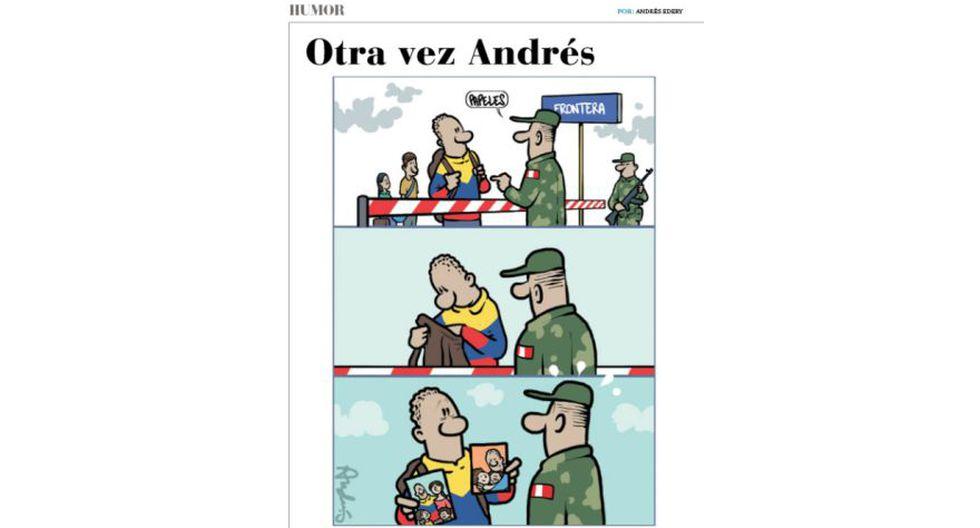 Otra ves Andrés: el drama venezolano resumido en una gráfica.
