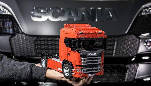 Recrean el nuevo Scania en Lego y este fue el resultado [VIDEO]