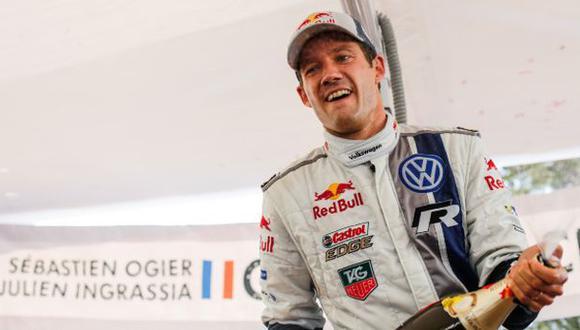 Sebastien Ogier se coronó campeón en el WRC