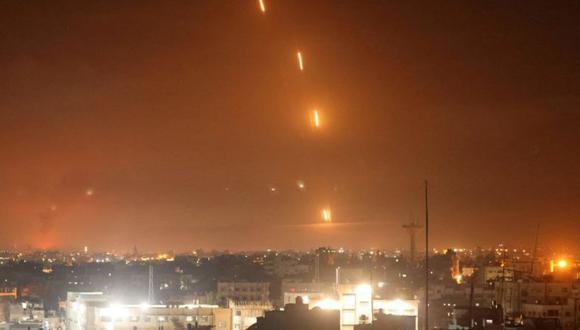 Hamás disparó un creciente números de cohetes sobre varias ciudades israelíes. (Foto: AFP).