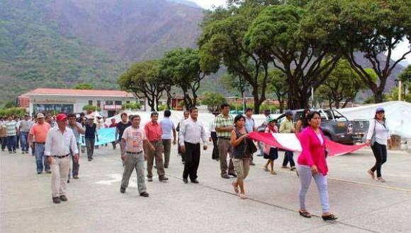 La Convención: seguirán paro y protestas contra hidroeléctrica