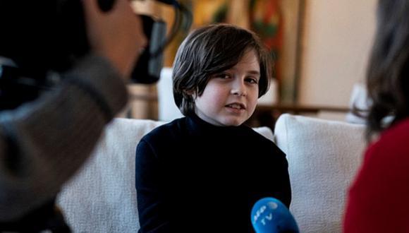 Laurent Simons, el niño de 11 años que ha logrado licenciarse en Física en menos de un año. (Foto: AFP)