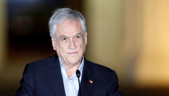 El presidente de Chile, Sebastián Piñera, es visto en el palacio presidencial Cerro Castillo, en Viña del Mar, Chile, el 8 de noviembre de 2020. (REUTERS/Rodrigo Garrido).