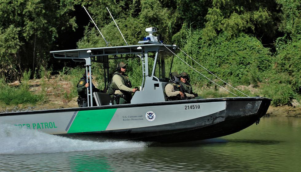 Un barco patrulla de Estados Unidos fue atacado con disparos desde el lado mexicano, reporta la Oficina de Aduanas y Protección Fronteriza. (Foto: Twitter @CBPRGV)