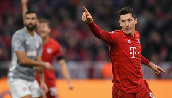 Con una probabilidad del 84% de victoria, el Bayern Múnich (1.14) es el indiscutible favorito para llevarse el campeonato, así como la victoria del sábado frente al Eintracht Frankfurt (18.50) | Foto: AFP