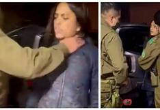 Escándalo en Chile: Carabinero que tomó violentamente del cuello a una constituyente es dado de baja | VIDEO