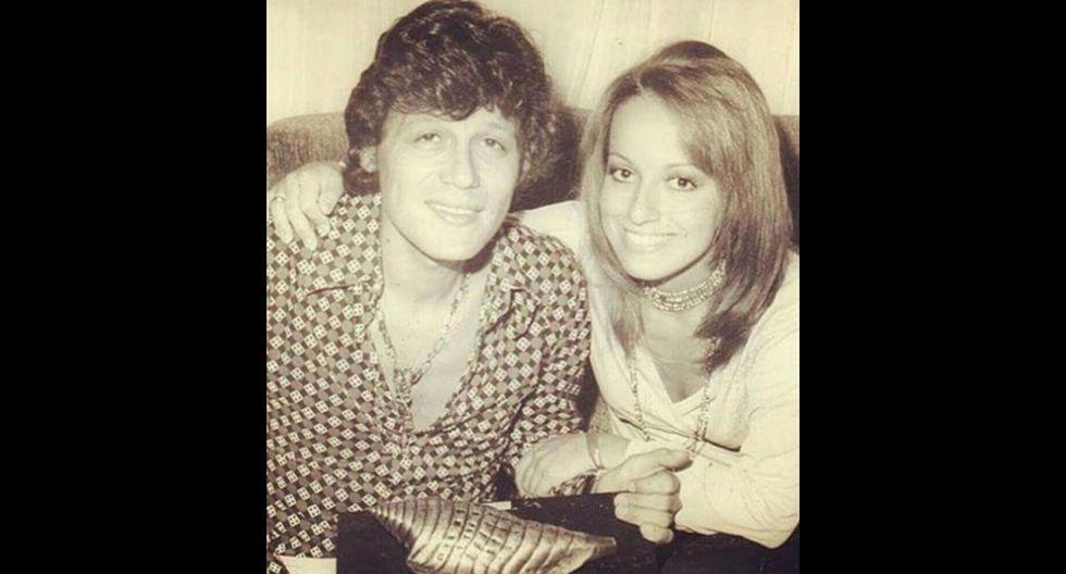 Joe Danova y Regina Alcover, padres de Gianmarco, en el pasado. (Foto: Instagram)