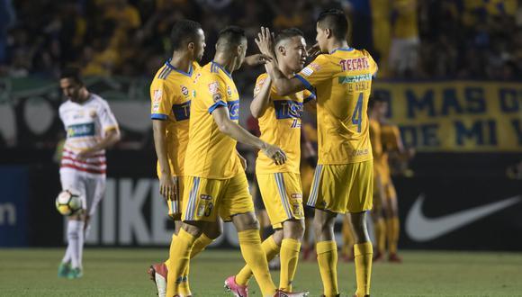 Tigres derrotó 3-1 a Herediano y clasificó a cuartos de final de la Concachampions. (Foto: Agencias)