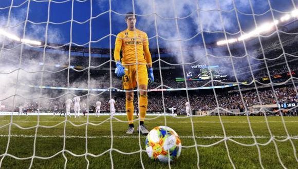 Thibaut Courtois es jugador de Real Madrid desde la temporada 2018-19. (Foto: AFP)