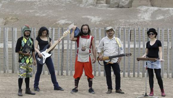 Huacas, burbujas y rock n' roll iniciarán su gira 2015