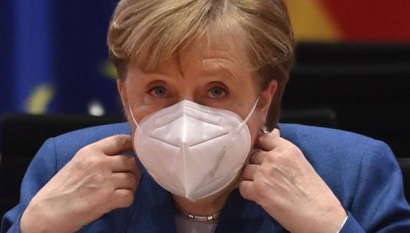 Coronavirus en Alemania | Últimas noticias | Último minuto: reporte de infectados y muertos hoy, sábado 9 de enero del 2021 | Covid-19 | En la imagen, la canciller Angela Merkel. (Foto: John MACDOUGALL / various sources / AFP).