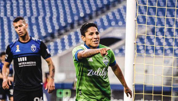 Raúl Ruidíaz en el once ideal de la semana en la MLS. (Foto: @SoundersFC)