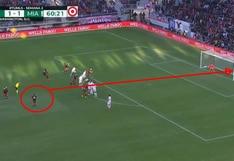 Edison Flores y su sensacional tiro libre que pegó en el palo y generó remontada del DC United por MLS | VIDEO