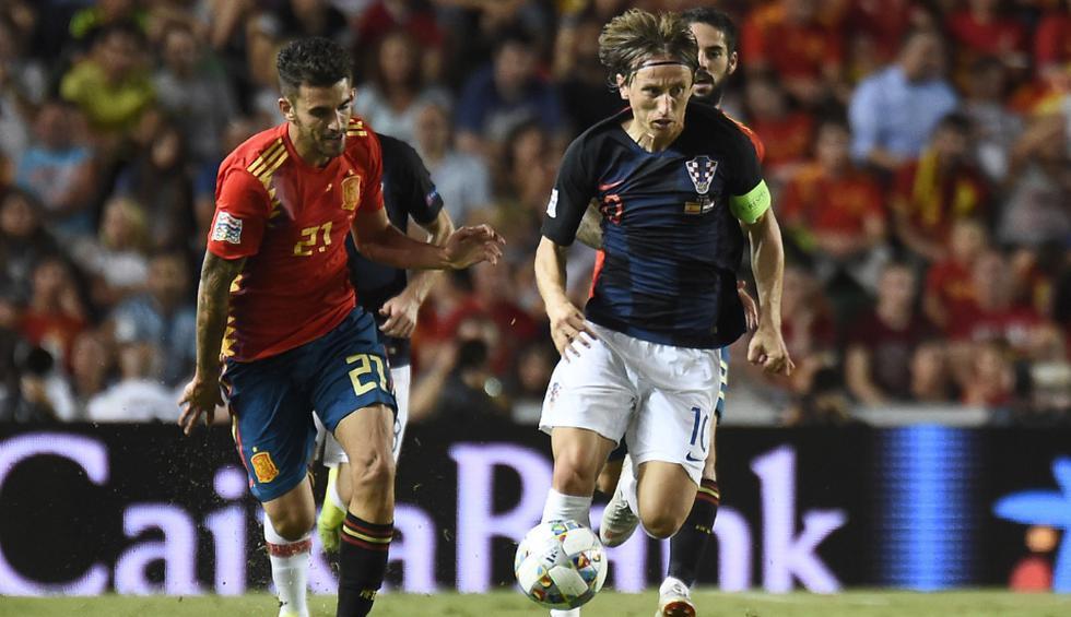 Croacia vs España: El equipo de Luis Enrique buscará ante la subcampeona del mundo sellar su boleto al 'Final Four' del torneo. (Fotos: AFP)
