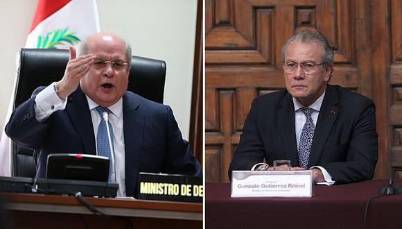 Cateriano y Gutiérrez se presentan hoy ante el Congreso