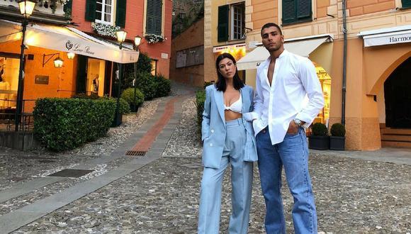 Kourntey Kardashian y sus hijos viajaron por todo Europa junto a Younes Bendjima | Foto: Instagram