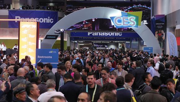 Se calcula que unas 180 mil personas llegaron hasta Las Vegas para asistir a la feria de tecnología más importante del mundo en su edición de 2020. (Foto: Cortesía de la Consumer Technology Association -CTA)