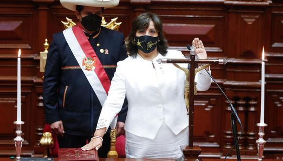 Dina Boluarte es la nueva ministra de Desarrollo e Inclusión Social. (Foto: GEC)