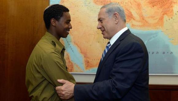 Netanyahu se reunió con judío etíope masacrado por policías